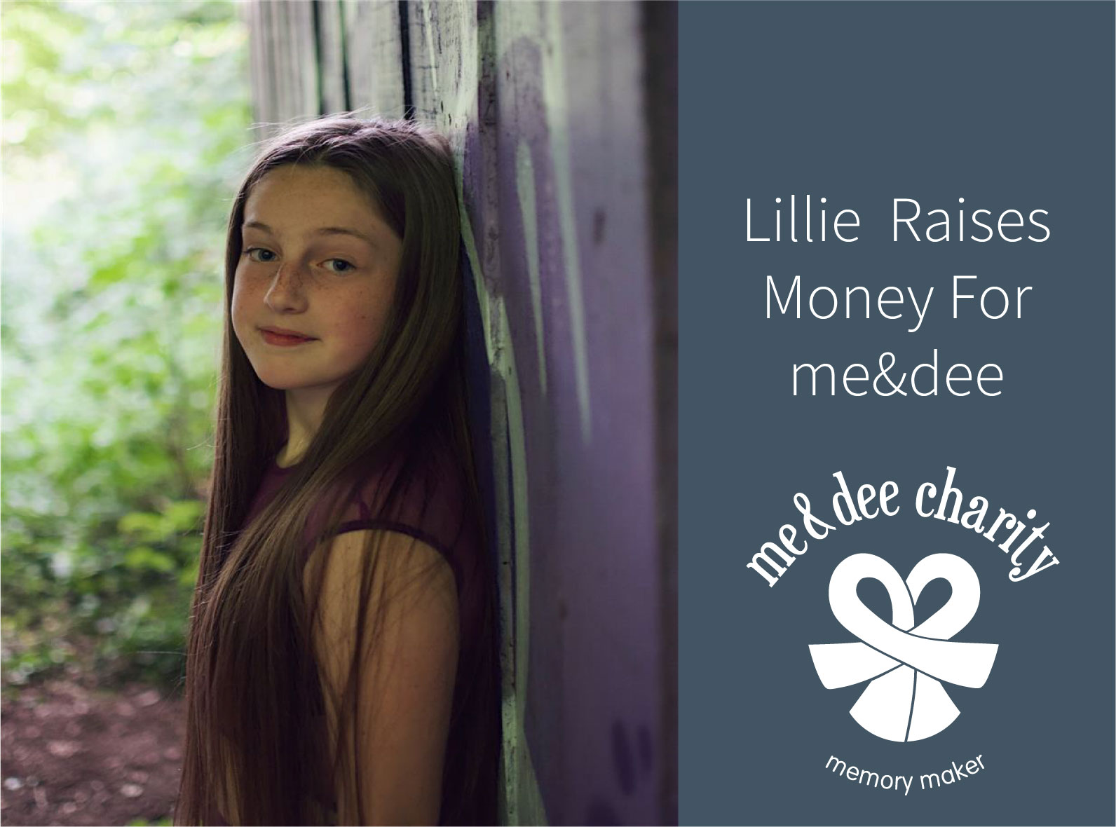 Lillie Donates, Twice!